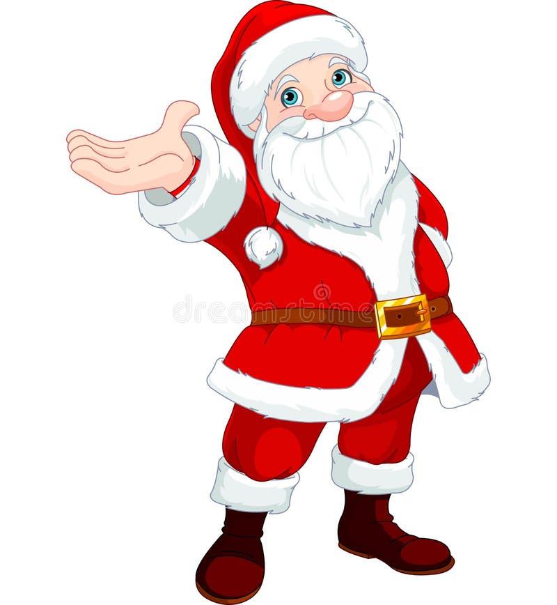 Santa Clause Presents lizenzfreie abbildung