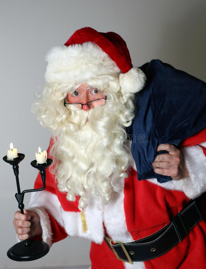 Download Santa Clause with Sack stock photo. Image of nicholas - 34169004