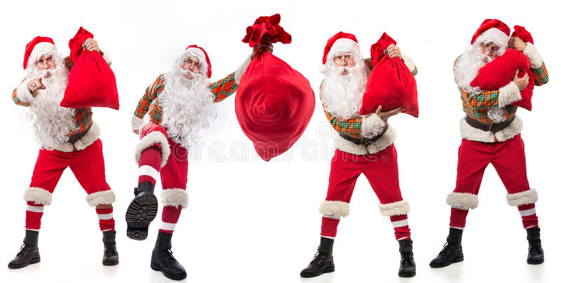 Santa Clauses imagens de stock royalty free