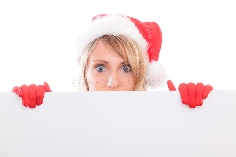 Download Santa copyspace stock photo. Image of paper, background - 27921724