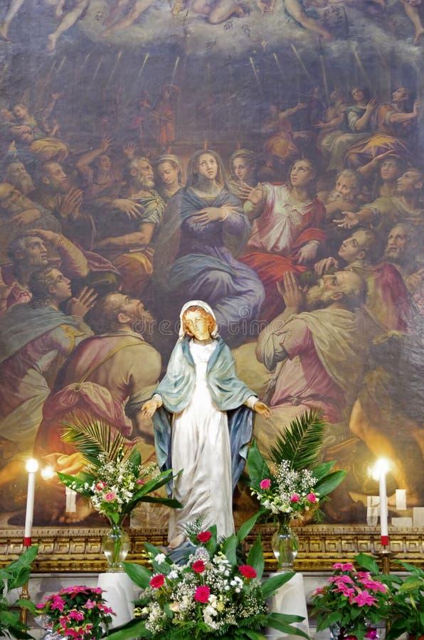 Santa Croce, Florencia, Italia fotos de archivo