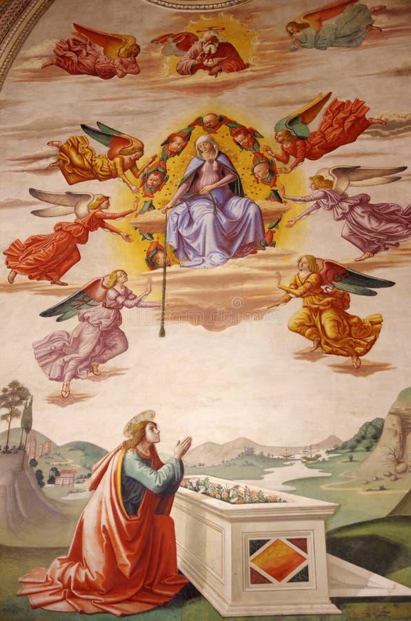 Santa Croce, Florenz, Italien lizenzfreies stockbild