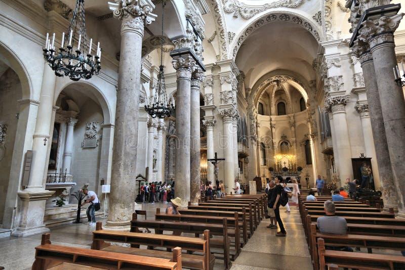 Santa Croce, Lecce royalty-vrije stock afbeelding