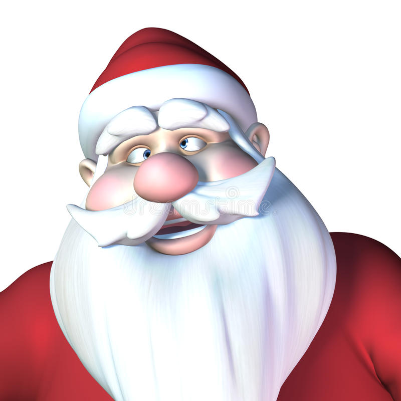 Download Santa With Crossed Eyes Royalty Free Stock Photo - Image: 24651025