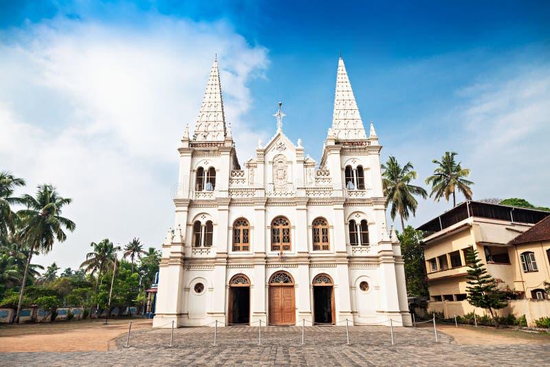 Santa Cruz Basilica. In Cochin, Kerala, India stock photo
