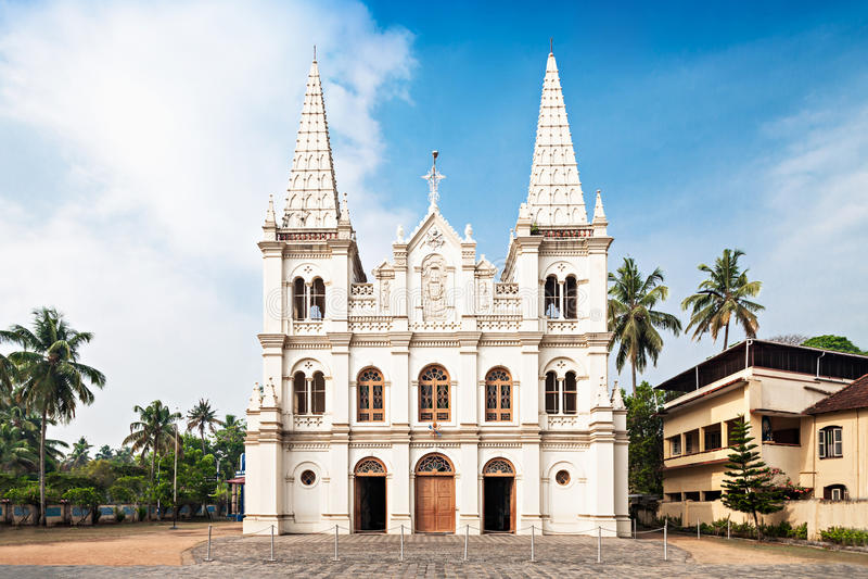 Santa Cruz Basilica stock photography