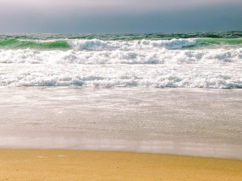 Santa Cruz Beach Shore View stock foto