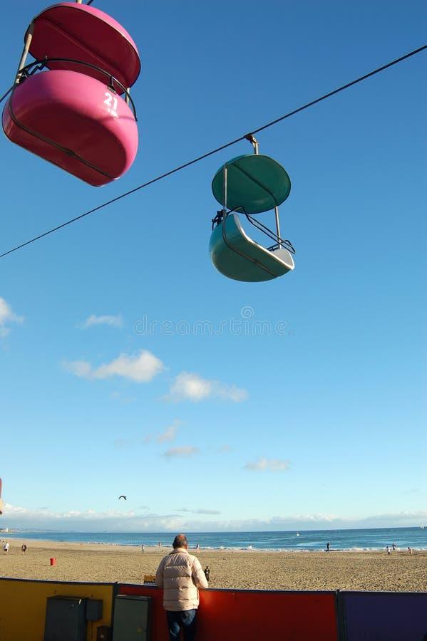 Santa Cruz Boardwalk stock image