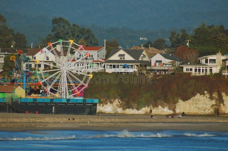 Santa Cruz Boardwalk royalty free stock photos