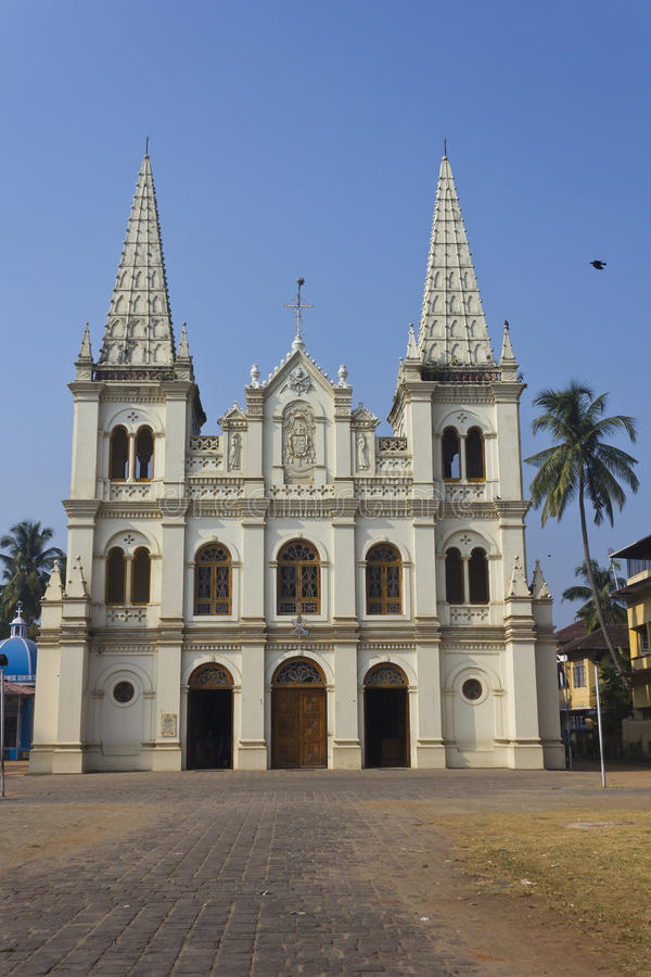 Santa Cruz Cathedral Basilica stock photo