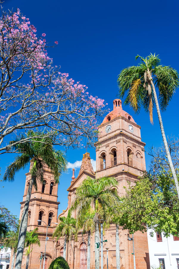 Download Santa Cruz Cathedral stock photo. Image of heritage, america - 43497416