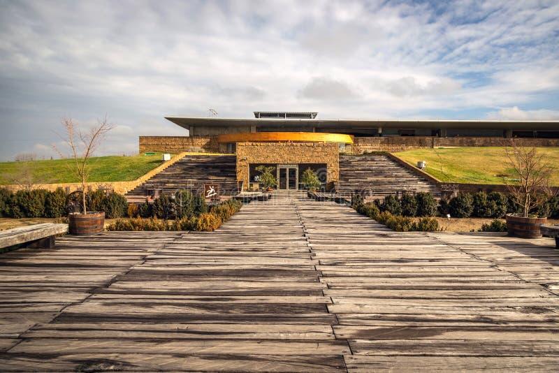 Santa Cruz, Chili - 15 juin 2013 - établissement vinicole Chili photos libres de droits