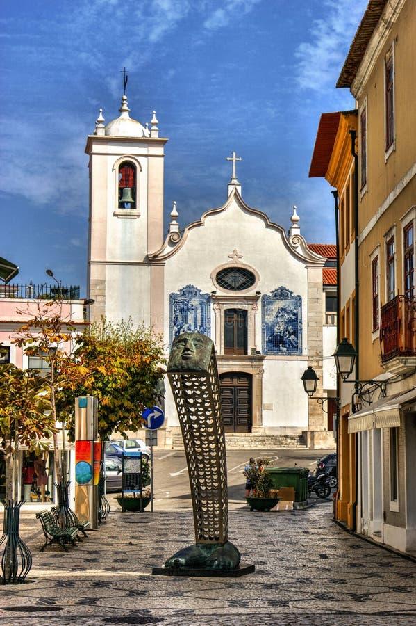 Download Santa Cruz Church In Aveiro Editorial Stock Photo - Image of church, town: 92490578