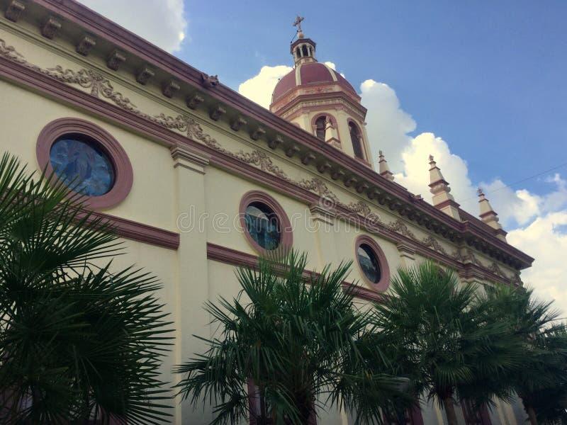 Santa Cruz Church, Bangkok Thaïlande photographie stock