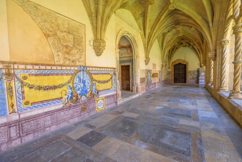 Santa Cruz Church Coimbra royalty-vrije stock afbeeldingen