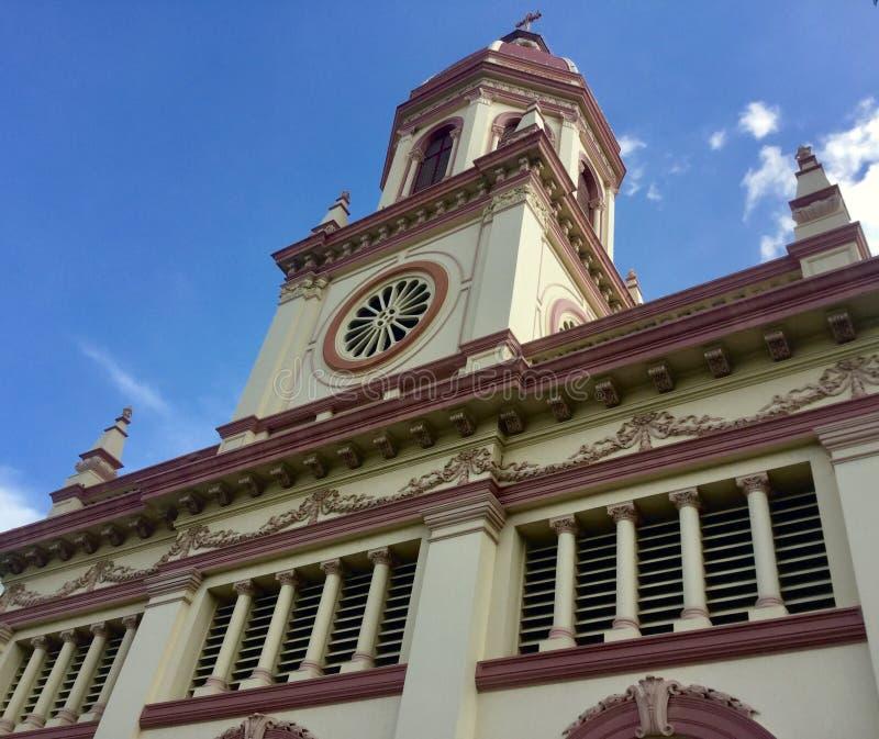 Santa Cruz Church en Bangkok fotos de archivo