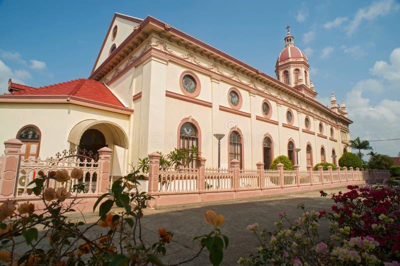 Santa Cruz Church (the Portuguese Legacy In Bangkok) Stock Photos