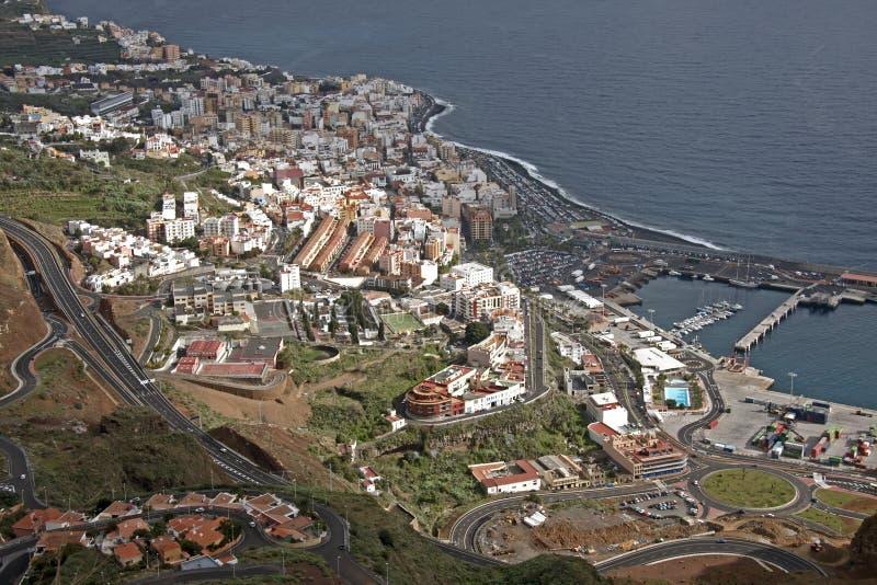 Santa Cruz DE La Palma, Canarische Eilanden, Spanje stock fotografie