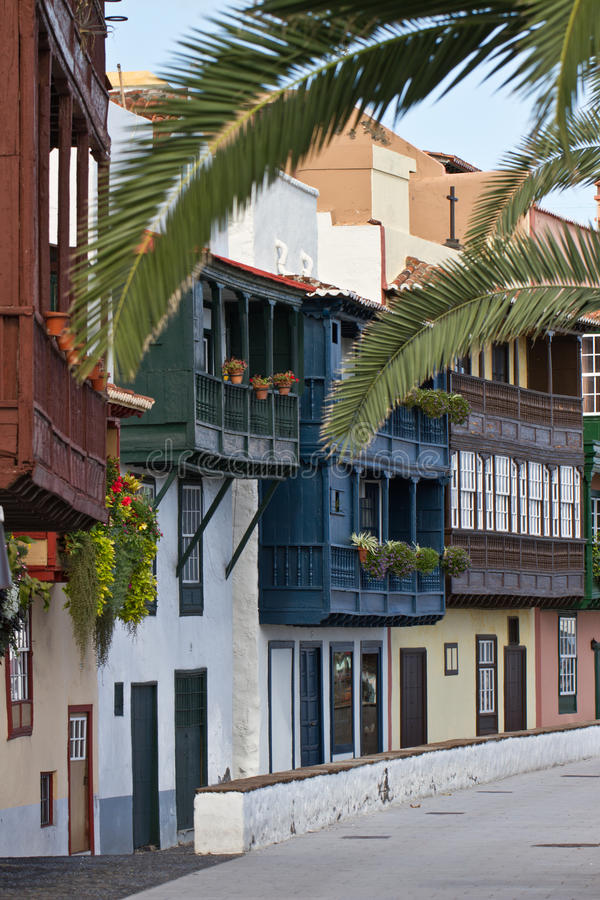 Santa Cruz de la Palma, España imagen de archivo
