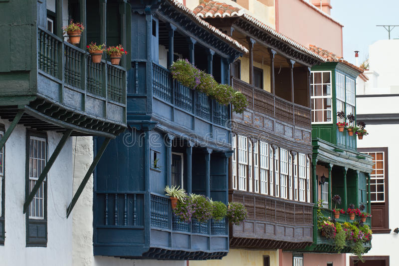Santa Cruz de la Palma, España imagen de archivo libre de regalías