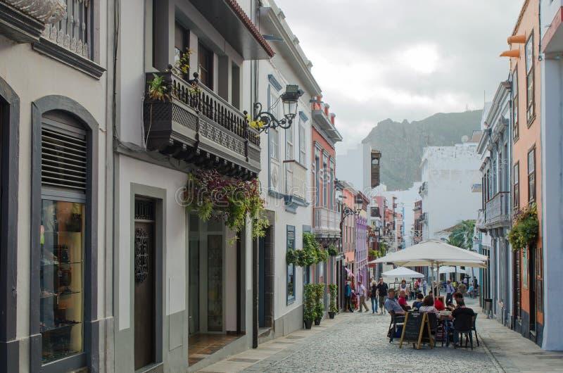 Santa Cruz de La Palma, La Palma, Ilhas Canárias, Espanha foto de stock royalty free