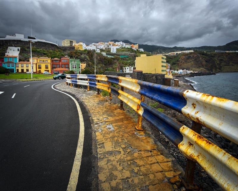 Santa Cruz de La Palma Ilhas Canárias Estilo das ilhas spain imagem de stock