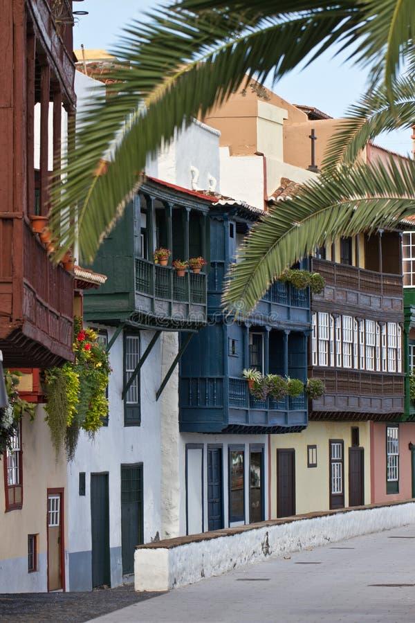 Santa Cruz DE La Palma, Spanje stock afbeelding