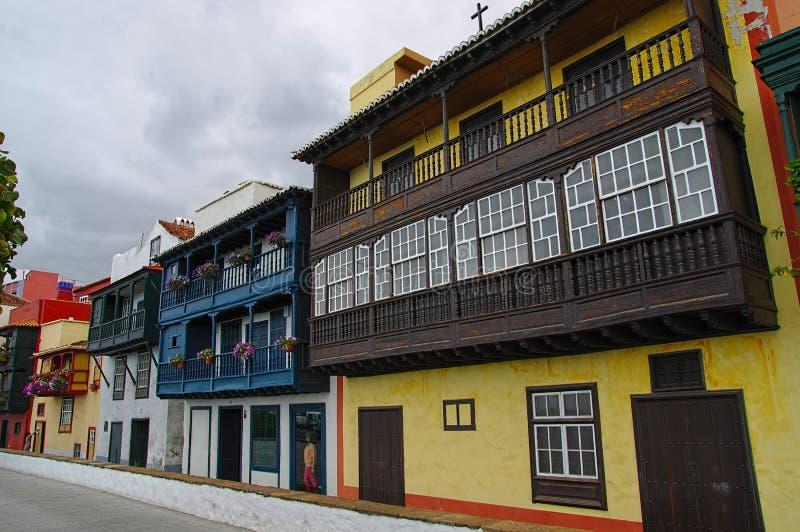 Santa Cruz DE La Palma, Spanje stock foto