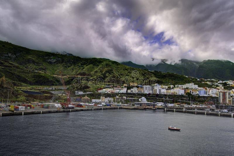 Santa Cruz de La Palma images stock