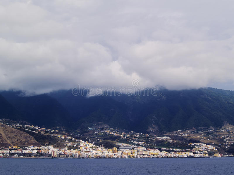 Santa Cruz de La Palma royalty free stock images
