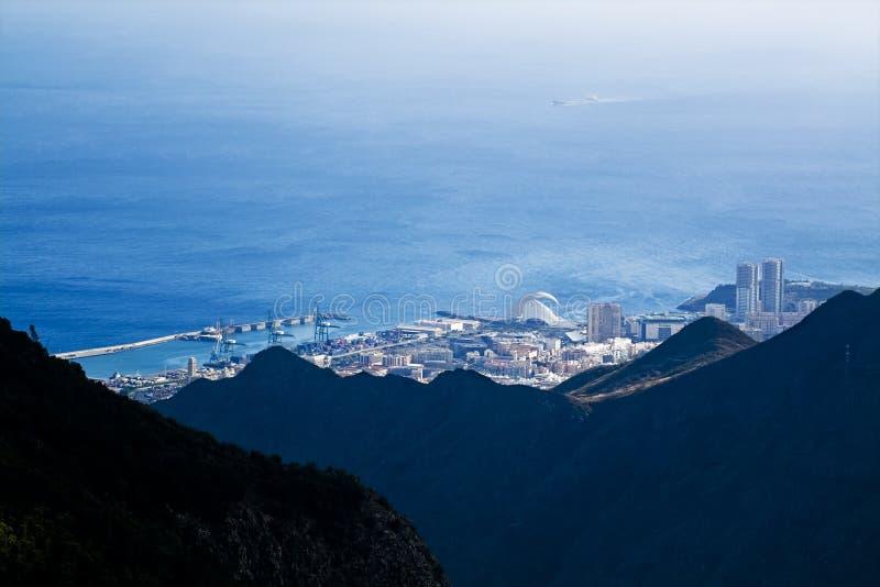 Santa Cruz de Tenerife imagens de stock