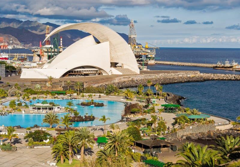 Santa Cruz de Tenerife Canary Islands Spain lizenzfreie stockbilder