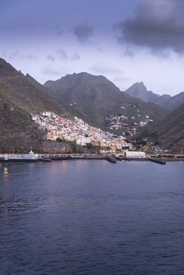 Santa Cruz de Tenerife Harbour photo libre de droits
