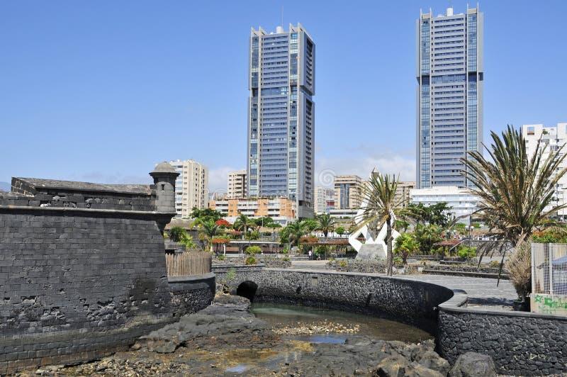 Santa Cruz de Tenerife, islas Canarias, España imágenes de archivo libres de regalías