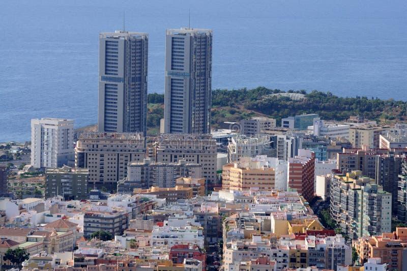 Santa Cruz de Tenerife, Spagna immagini stock