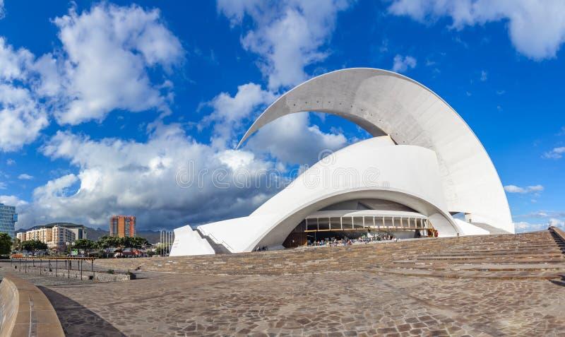 Santa Cruz de Tenerife, wyspy kanaryjska Hiszpania, Luty, - 20, 201 zdjęcie royalty free