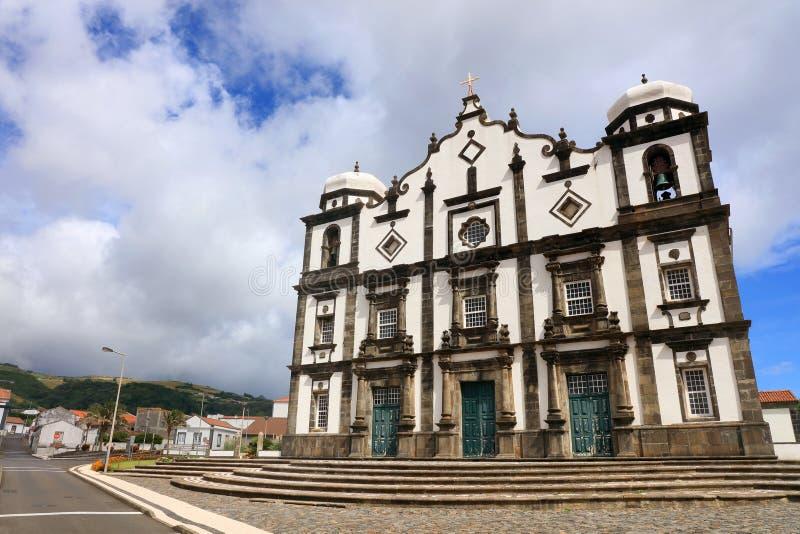 Santa Cruz del Flores, Azzorre, Portogallo fotografia stock