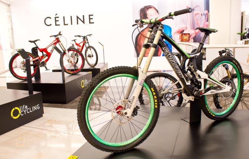 Santa Cruz-fiets. stock fotografie
