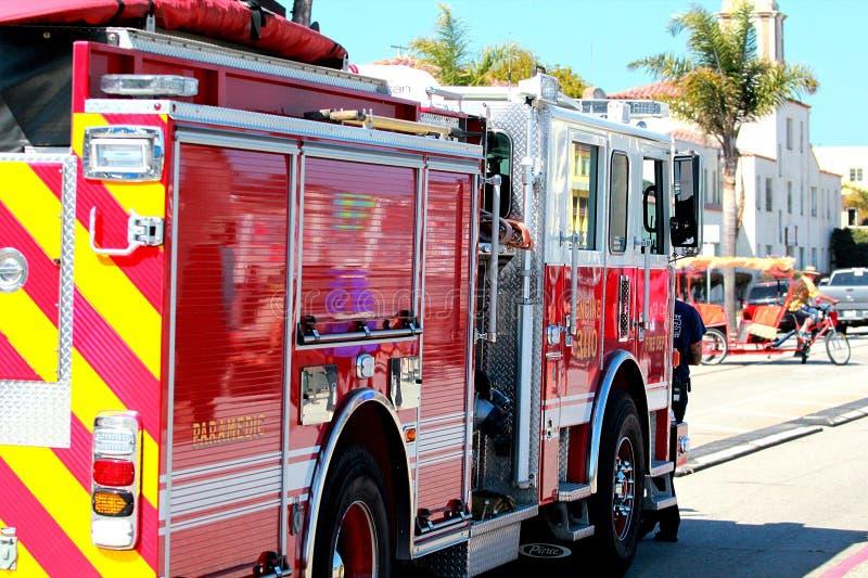 Santa Cruz Fire Department fotografia stock libera da diritti