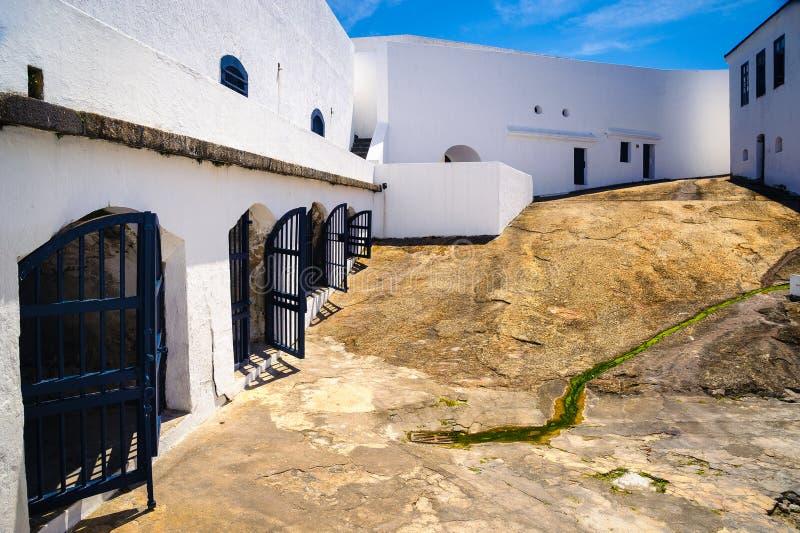 Santa Cruz forteca zdjęcie stock