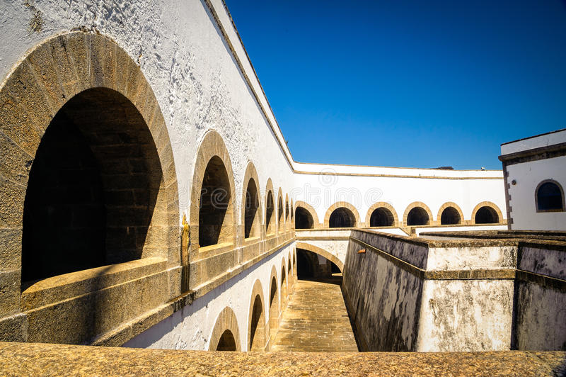 Santa Cruz Fortress stock afbeeldingen
