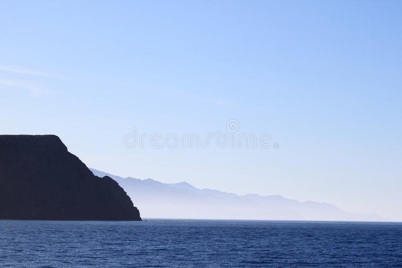 Santa cruz island stock photos