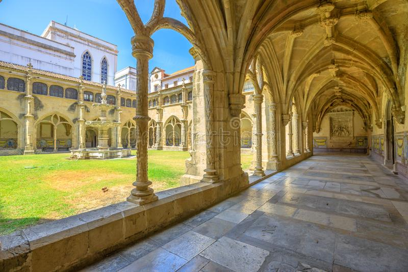 Santa Cruz Monastery royalty-vrije stock foto's