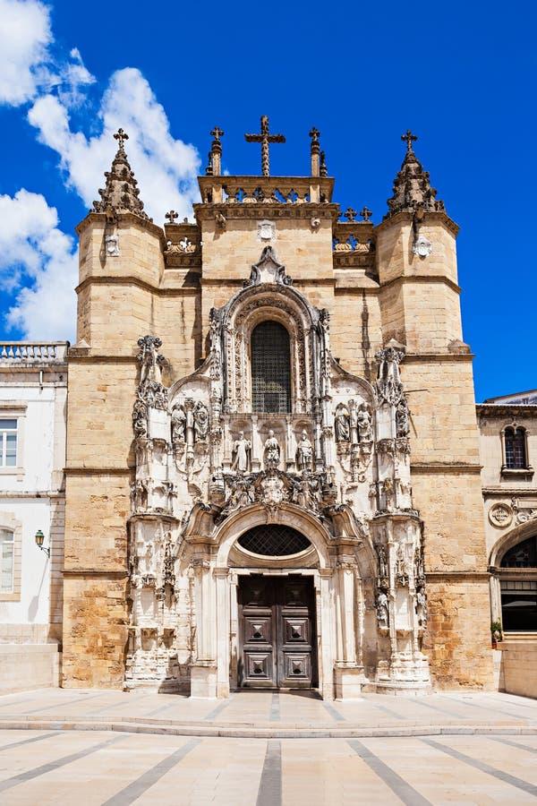 Santa Cruz Monastery royalty-vrije stock afbeelding