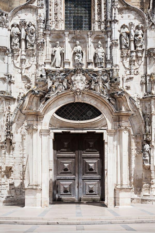 Santa Cruz Monastery royalty-vrije stock foto