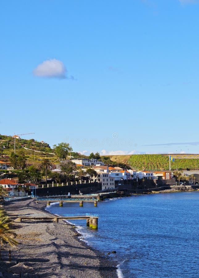 Santa Cruz op Madera stock foto's