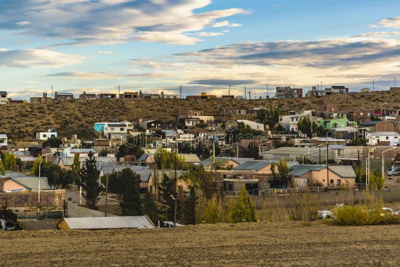 Santa Cruz Outskirt Town, Argentina fotografia stock
