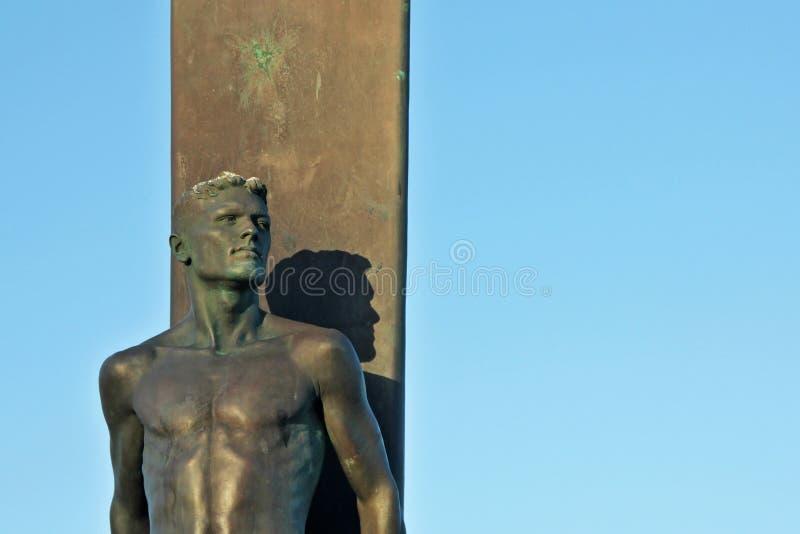 Download Santa Cruz Surfer Statue In California Stock Image - Image: 26089601