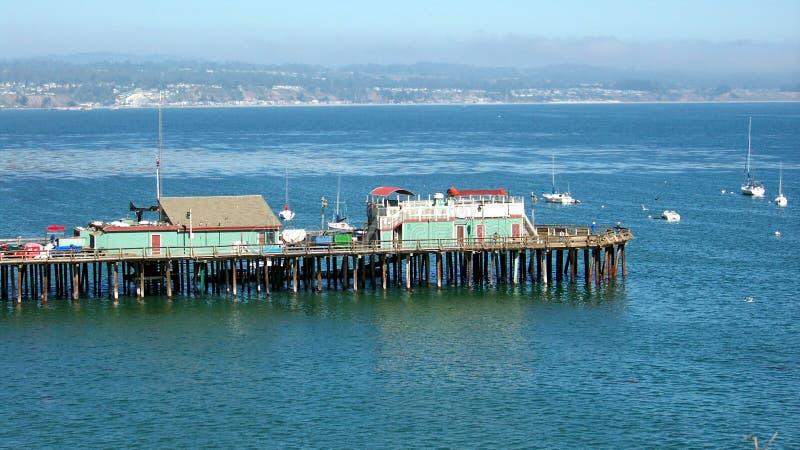 Santa Cruz Wharf royalty free stock photo