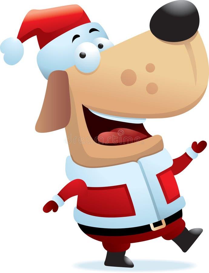 Download Santa Dog stock vector. Illustration of xmas, christmas - 8429479